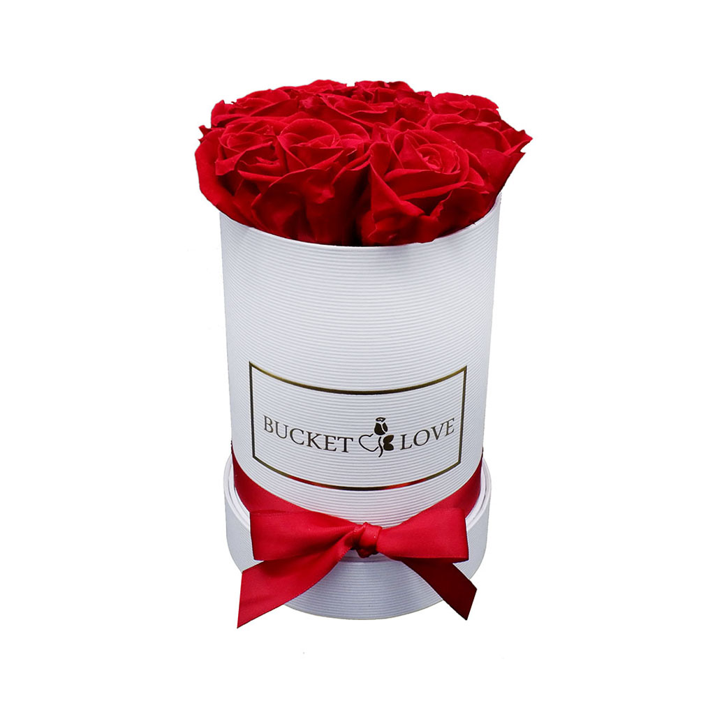 Bucket Of Love Send Flowers In A Box Delivery To All Big Cities Eu